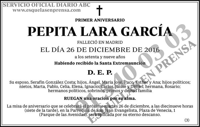 Pepita Lara García